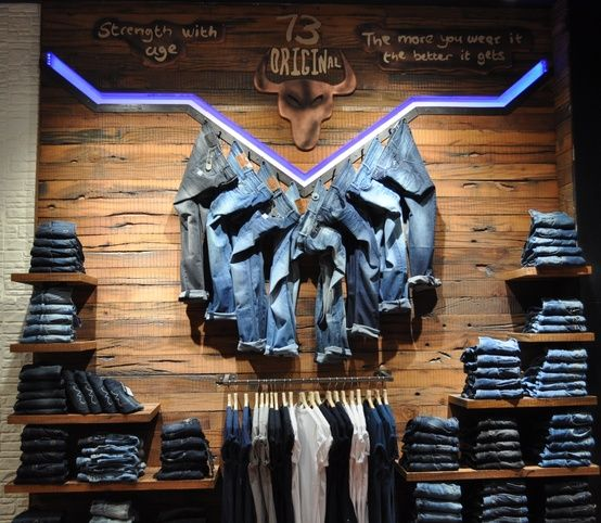 pepe jeans store wall displays pinterest aesthetics visual merchandising and wooden walls. Black Bedroom Furniture Sets. Home Design Ideas