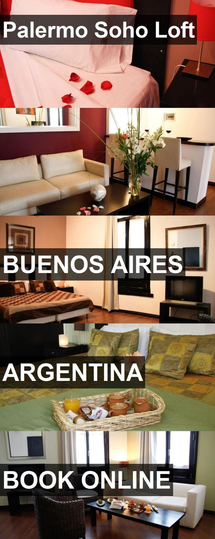 Hotel Palermo Soho Loft in Buenos Aires, Argentina. For more information, photos, reviews and best prices please follow the link. #Argentina #BuenosAires #travel #vacation #hotel
