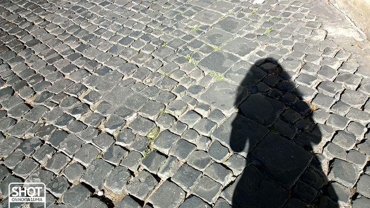 #Romaè la città del sampietrino :)  Scatto di @Valentina Cinelli con @Nokia Italia #Lumia1020 #Roma #sampietrini