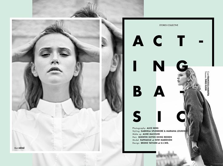 Stories Collective - The Simplicity Issue / Acting Basic