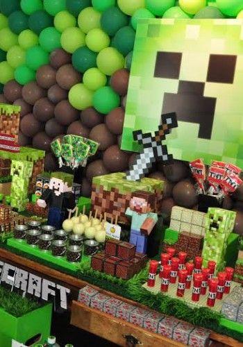 Festa Infantil: Minecraft                                                                                                                                                                                 Mais