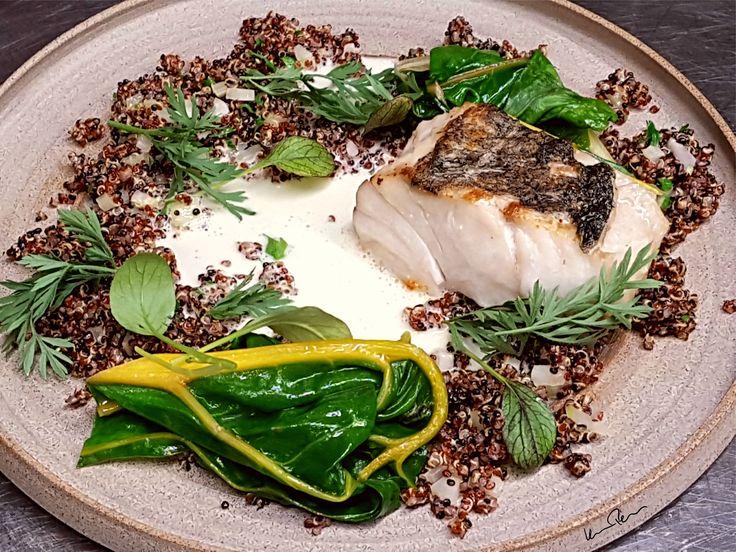 TAMAstyle I chef: Peter Kovacs II sous chef: Andras Szantai I     Cod, quinoa, butter sauce