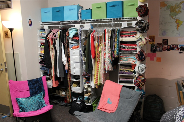 Dorm Room Closet Curtain Small Spaces