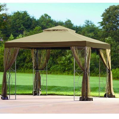 Sunjoy Replacement Canopy for 10' W x 10' D Callaway Gazebo