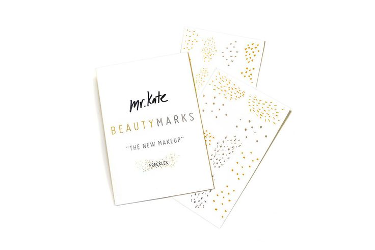 "Love these, need for halloween next year. BeautyMarks ""The New Makeup"" - Freckles – Mr. Kate"