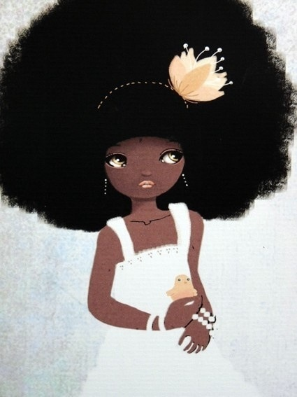 17 Best Images About Afro Art Baby On Pinterest Woman