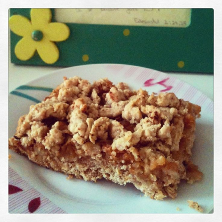 Delicious apple crumble pie#end of autumn,almost december# <3