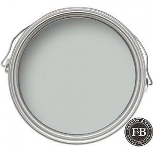 Downstairs master - Farrow & Ball Skylight 205 paint color - Interiors By Color