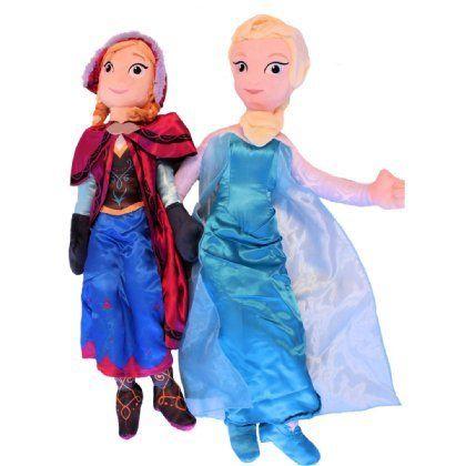 Disney Giant Pillow Pals Anna and Elsa Set @ niftywarehouse.com