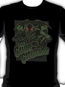 The Call of Caoutchouc t-shirt by 3xL