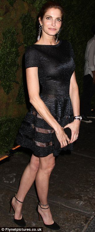 Casually, stephanie seymour see through dress think, that
