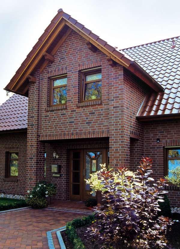 Verblender / Klinker Verblender K744-NF / Klinker / Fassade / rotblaubunt