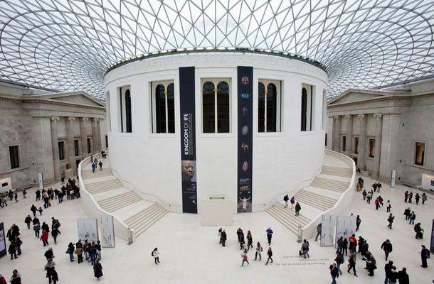 Museo Británico, Reino Unido / Sus colecciones abarcan campos diversos del saber humano, como la historia, la arqueología, la etnografía y el arte. El Museo Británico es, ante todo, un museo de antigüedades.  Este lugar fue una de las primeras instituciones de este tipo en Europa.