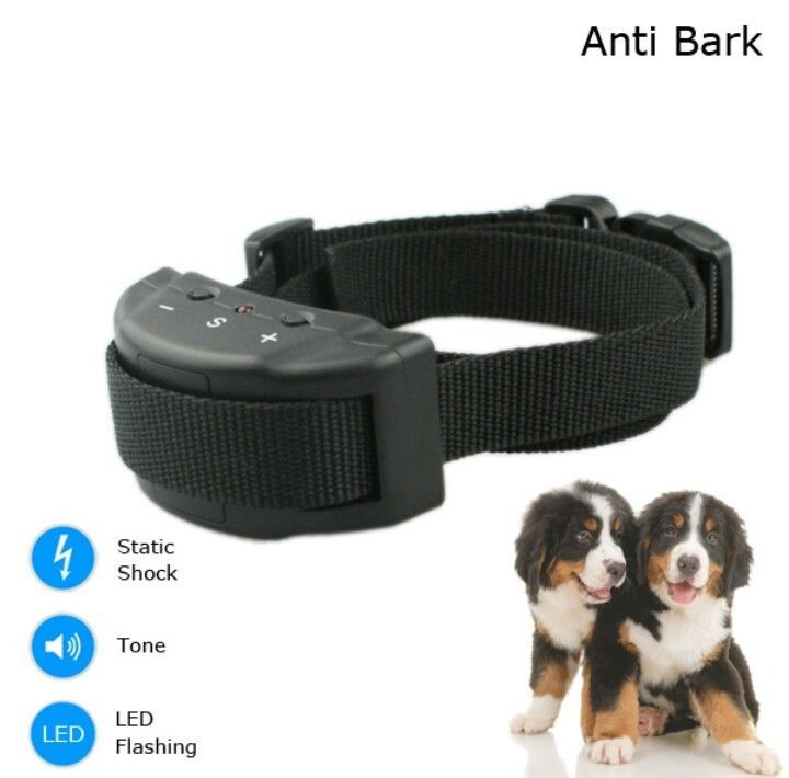 SALE PRICE...WORLDWIDE SHIPPING...Anti bark dog shock collar electric no barking control AX1 training pet new dogs #Nobark