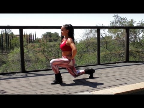 Workout With Rosa Acosta: Legs and Buns (Part 1)