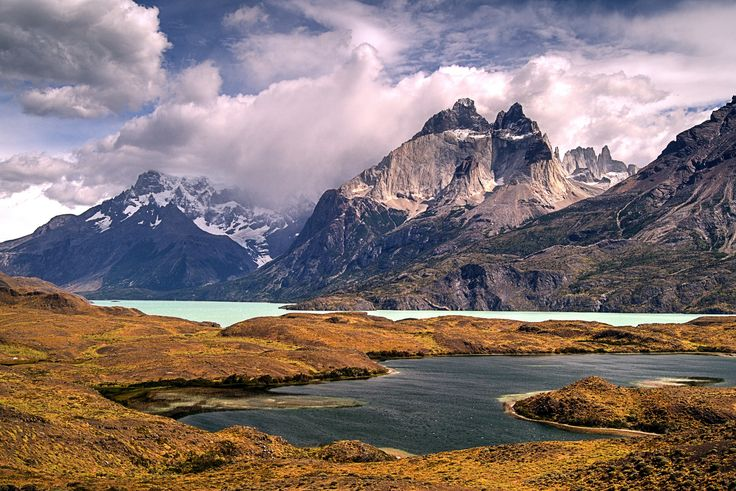 https://flic.kr/p/rPqYKW | Cuernos del Paine, Lago Pehoé y Paine - Paine Horns, Pehoe and Paine Lakes | Parque Nacional Torres del Paine - Torres del Paine National Park - Chile