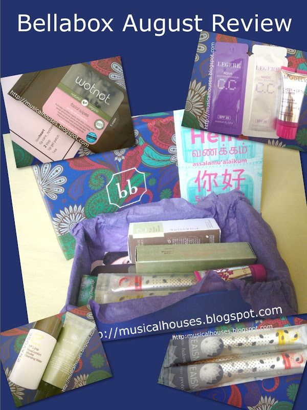 Bellabox August Review: National Day Box