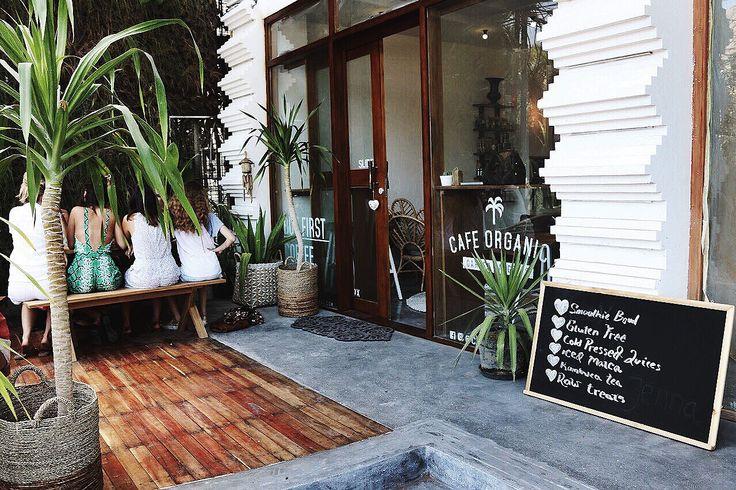 Cafe organic Bali Organic gardening