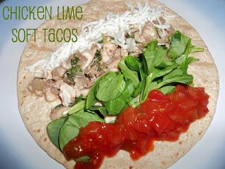 Healthy Meals Monday: Chicken Lime Soft Tacos   Six Sisters' Stuff