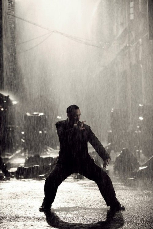 Tony Leung in The Grandmaster (2013).  A kung-fu biopic movie directed by Wong Kar-wai count me in, this one looks really great and I hope I get a chance to see it in a cinema.