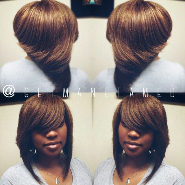10 best weaves sew in extensions images on pinterest bob cut razor cuts ombre weave pmusecretfo Gallery