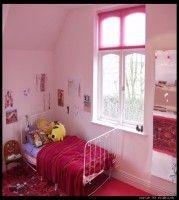 Digital Photo Titled Orange House Girls Room