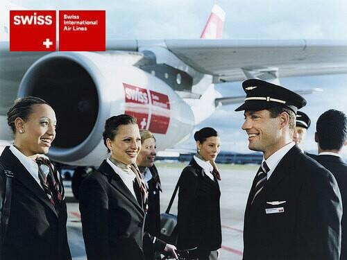 Swiss International Airlines: my ride across the planet.