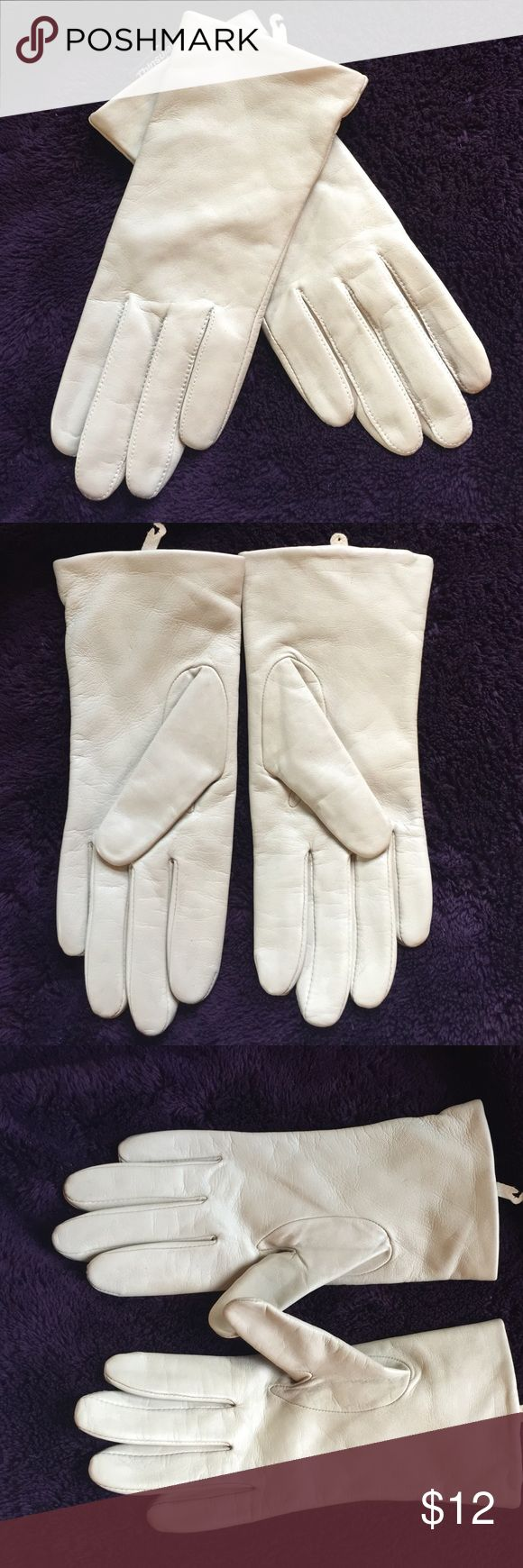 Thinsulate leather driving gloves - Thinsulate Leather Driving Gloves Med