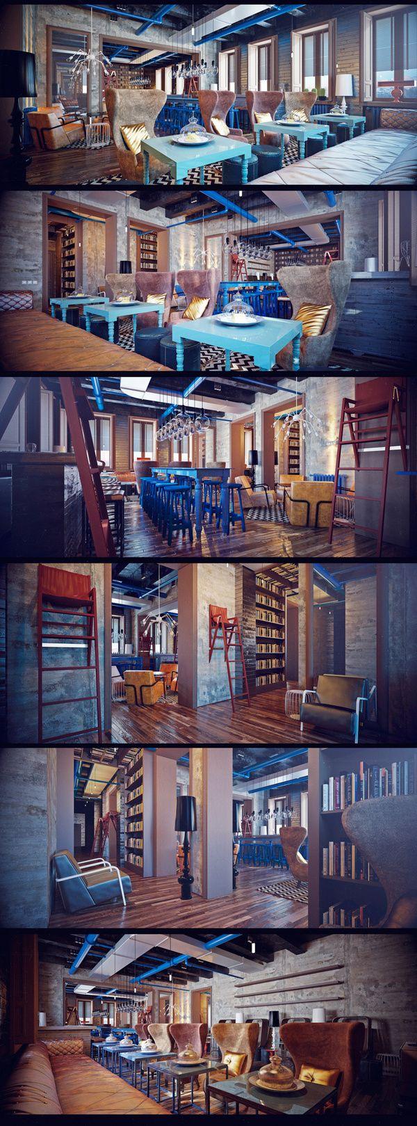 159 best art bar images on pinterest | cafes, restaurant interiors