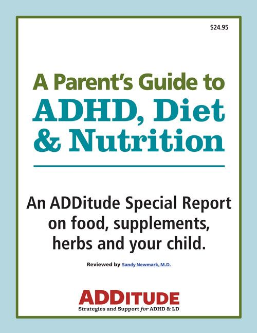 Adult adhd diet can