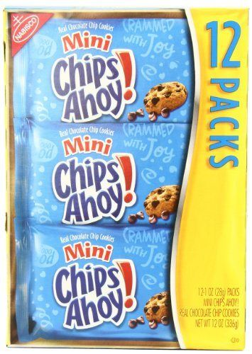 Chips Ahoy! Mini Cookies, 1 Ounce, (Pack of 12) - http://bestchocolateshop.com/chips-ahoy-mini-cookies-1-ounce-pack-of-12/