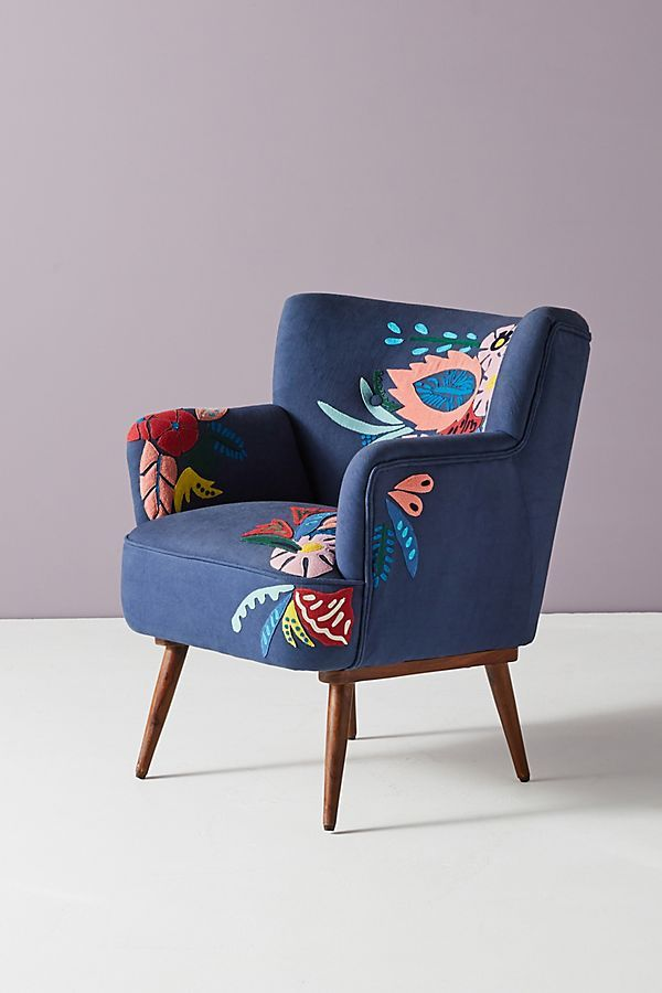 Floral Accent Chairs.Felted Floral Petite Accent Chair In 2019 Chaise Ideas Accent