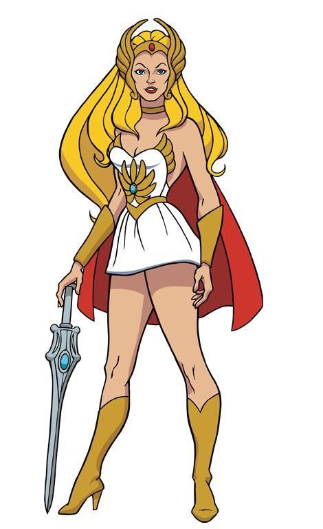 She-Ra é uma personagem da série de animação She-Ra: A Princesa do Poder. Ela é o alter ego da Princesa Adora e irmã gêmea de He-Man.