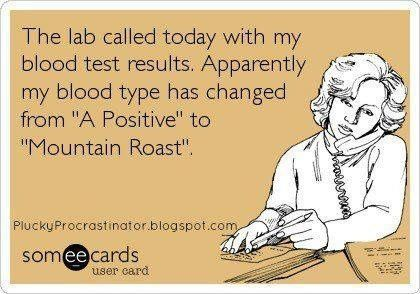 What's your blood type? #Coffee #MrCoffee