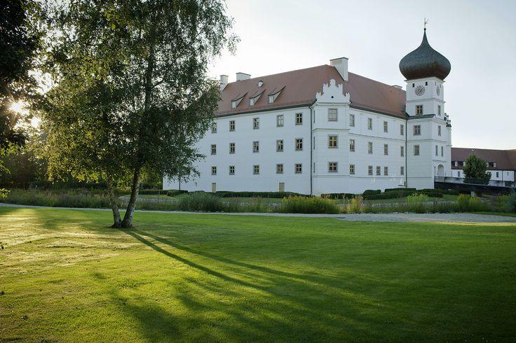 Schloss Hohenkammer Freising Bayern Germany Burgen