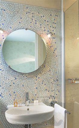 48 best images about salle de bain on pinterest femmes - Plaque mosaique salle de bain ...