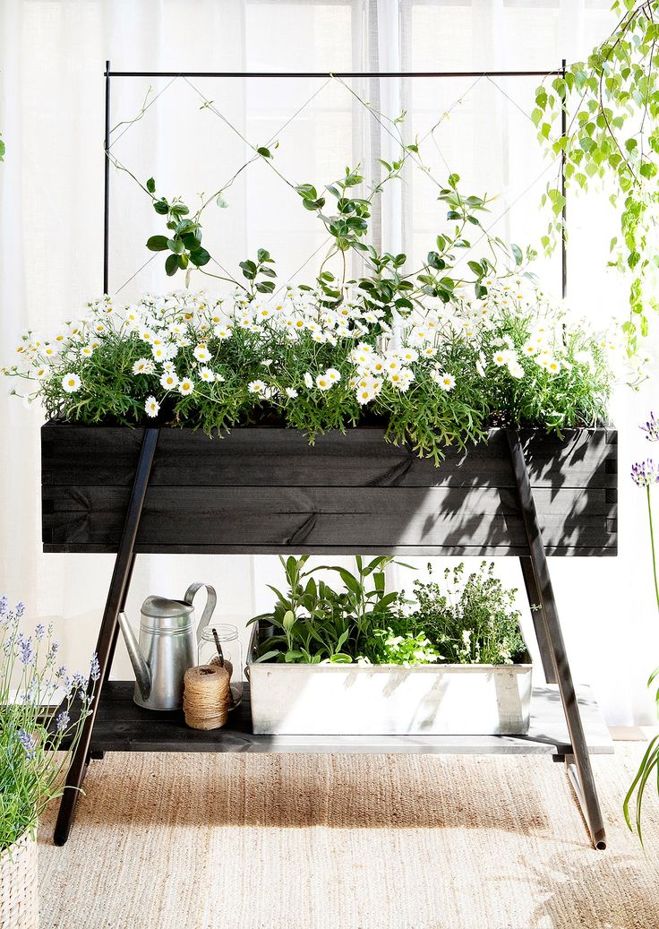 The Raised Grow Box By Kekkilä Is An Easy Way Of Setting Up A Small Garden  On The Balcony Or Terrace Of Your Home. The Easy To Assemble Kit Includes A  ...