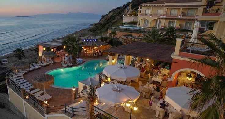 Oooh! Our #sunset view is amazing! #DelfinoBlu #Corfu