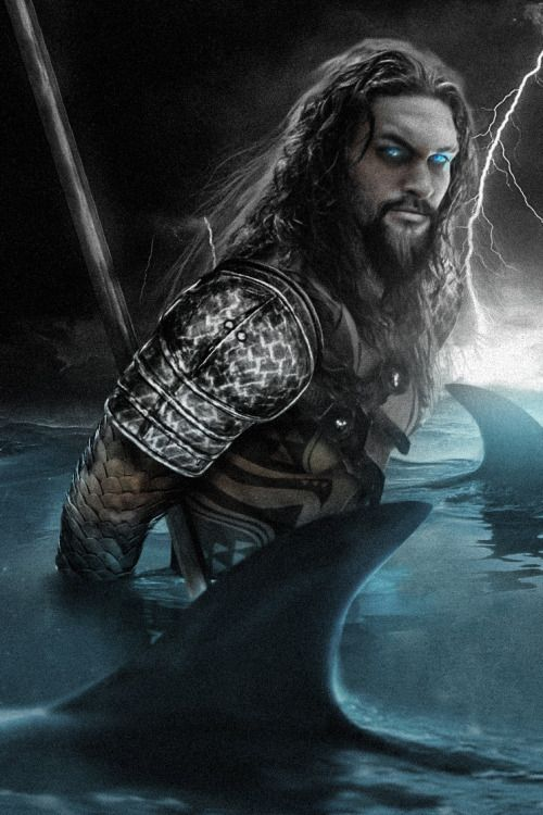 Jason Momoa as Aquaman - Joseph Medina