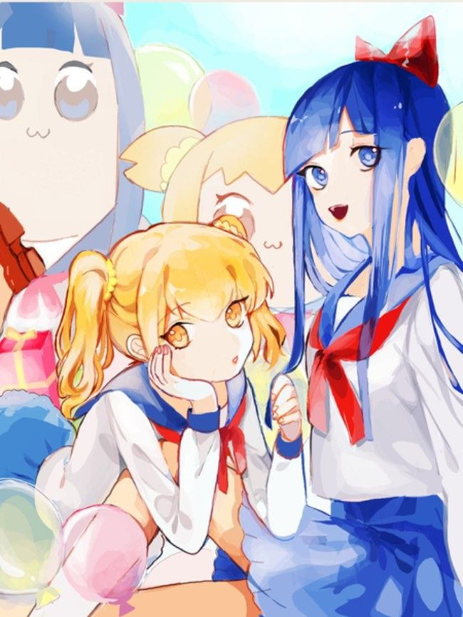 Pop Team Epic With Images Anime Fan Drawing Anime Art