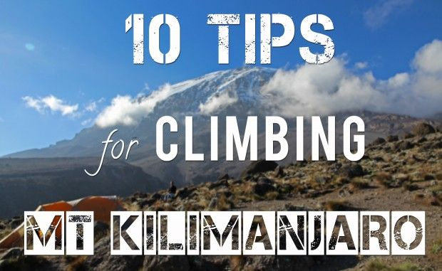 10 tips you can apply before and during your climb on Kilimanjaro to ensure you make it to the summit!