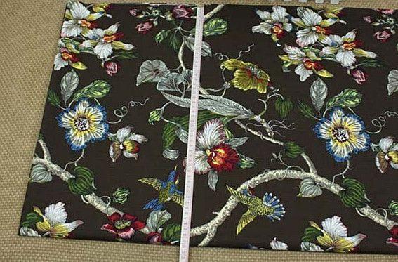 SS361- Tessuto di cotone di tela Uccello in150cm  di Stylish Scents su DaWanda.com