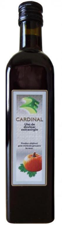 Ulei de dovleac 500 ml in ambalaj de sticla - 2e-prod.ro