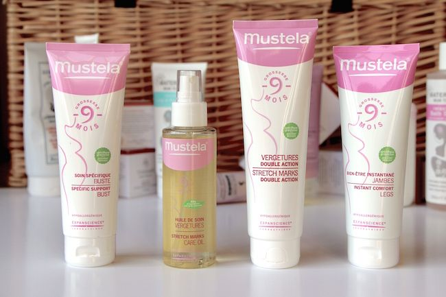 Pregnancy Body Oils: Mustela Stretch Marks Care | A Model Recommends