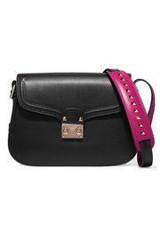 Cabana two-tone leather shoulder bag VALENTINO BAG