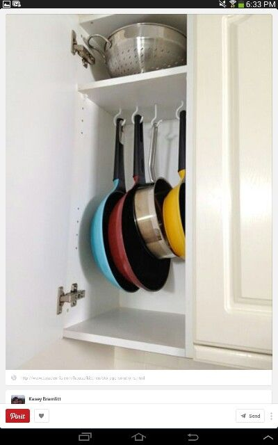 Pot/pan storage