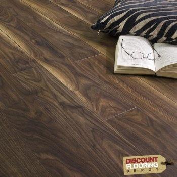Walnut Black Laminate Flooring