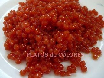 Ingredientes 400 g de zumo de tomate 1 cucharadita y ½ de agar agar en polvo (6 gramos) ó 6 hojas de gelatina neutra rehidratad...