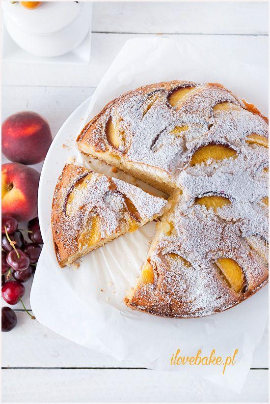 proste szybkie ciasto z owocami