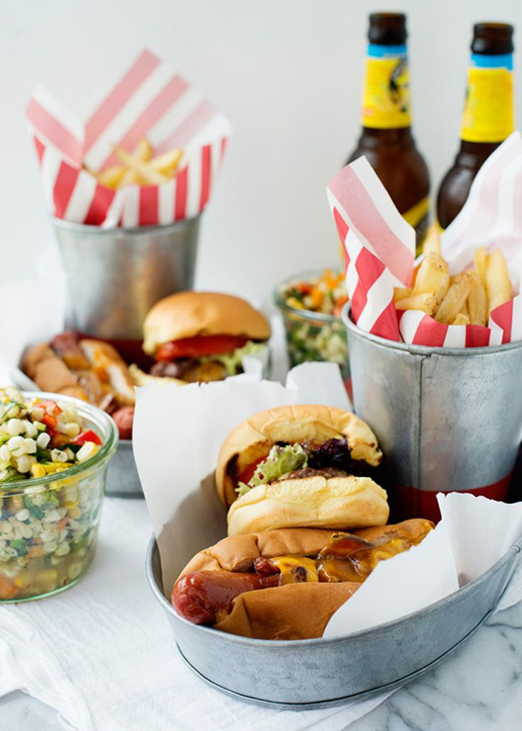 Texas Tommy Dogs and Cheeseburger Sliders http://bakedbree.com/texas-tommy-dogs-cheeseburger-sliders